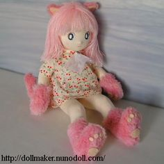 Nekomimi doll making
