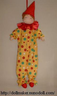 Clown doll pattern