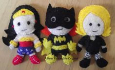 Make Your Own Felt Superhero