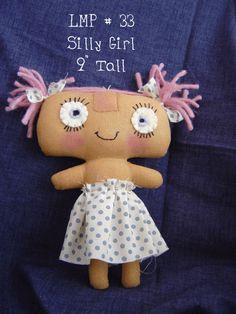 Silly girl pattern and tutorial