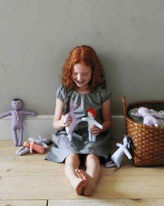 Gingham Doll Family How-To
