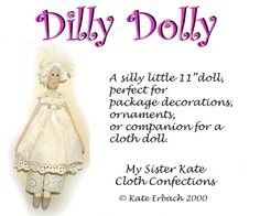 Fancy Nancy Doll Pattern