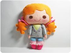Bella Girl - Doll Pattern