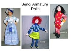 Free Doll Pattern - Bendi Armature