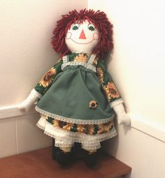 Make a Raggedy Ann Doll