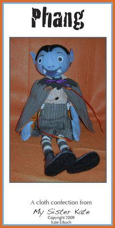 Free Cloth Doll Pattern ? Phang