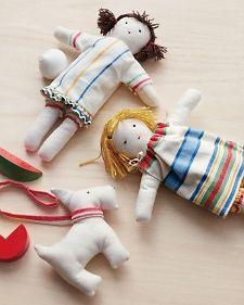 Tea Towel Doll Pattern & Tutorial