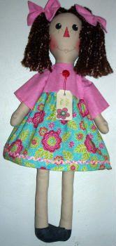 Lillie Mae Doll Pattern