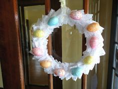 DIY Easter Wreath tutorial