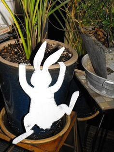 Climbing Easter Bunny Cut-Outs