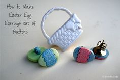 Easter Egg Earring Set