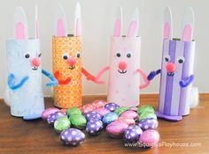 Easter Craft: Easter Bunnies