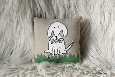 Dog Embroidery Pattern