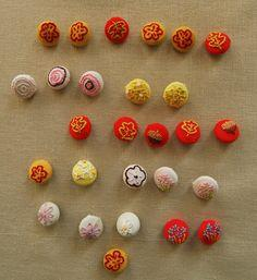 Embroidered Covered Buttons
