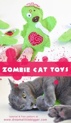 Zombie Catnip Filled Cat Toys