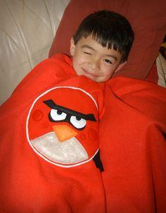 Angry Birds Fleece Blanket