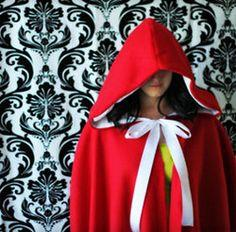 Red Riding Hood Cape