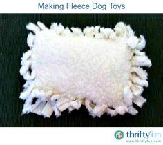 Inexpensive Fleece Dog Toy