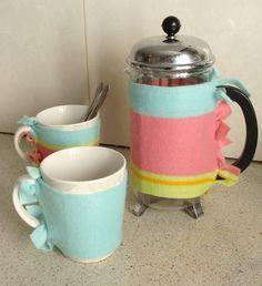 Coffee Press+Mug Warmers