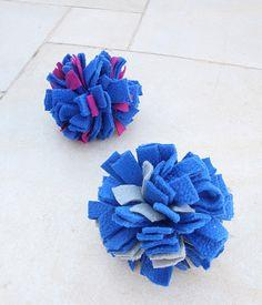 No Sew PomPom Ball