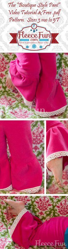 Children's Boutique Style Pants