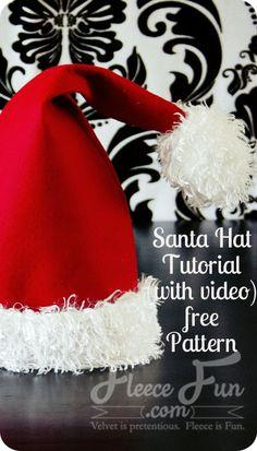 Santa Hat How To