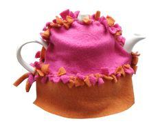 Fleece No-Sew Tea Cozy