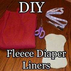 Fleece Cloth Diaper Liners