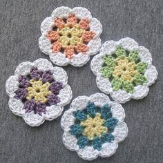 Granny-in-the-middle Crochet