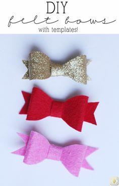DIY hairbows