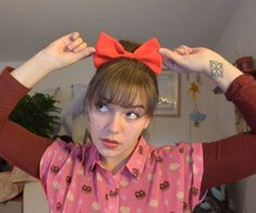 Kiki's Delivery Service Hair Bow
