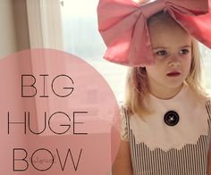 big huge pink bow tutorial