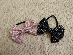 DIY Hair Tie Bow