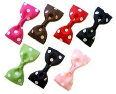 Make Bow-Tie Hairbow Clips