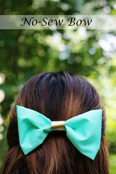 DIY No-Sew Bow