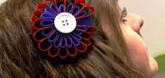 DIY 4th of July Hair Bow