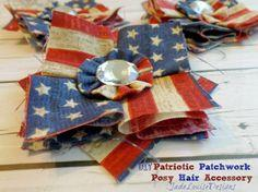 Patriotic Patchwork Headband