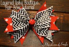 Spike Boutique Hair Bow