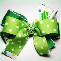 Luck of the Irish Hairbow