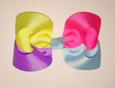 Easy 4 color boutique bow!
