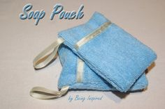 Being Inspired: Day 29 - Soap Pouch