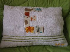 Hand Towel Pillow and Tutorial