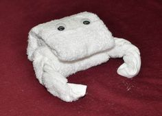 How to Make a Towel Crab
