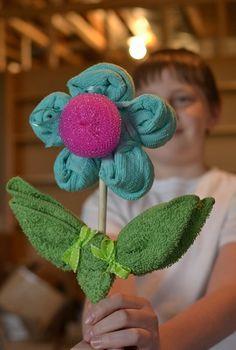 93 Towel Crafts, Washcloth Crafts - CraftFreebies com