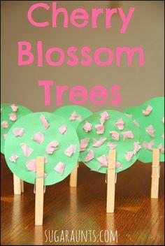 Cherry Blossom Tree Craft