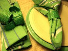 Fun Fabric Scrap Napkin Rings
