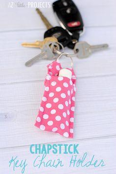 Keychain Chapstick Holder