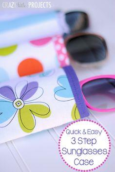 Quick & Easy Sunglasses Case Pattern
