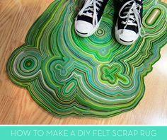 Make a Stunning DIY Rug