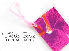 Scrap Luggage Tags